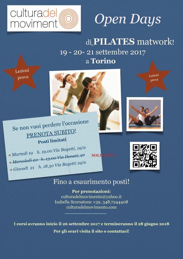 Copia di Pilates open days