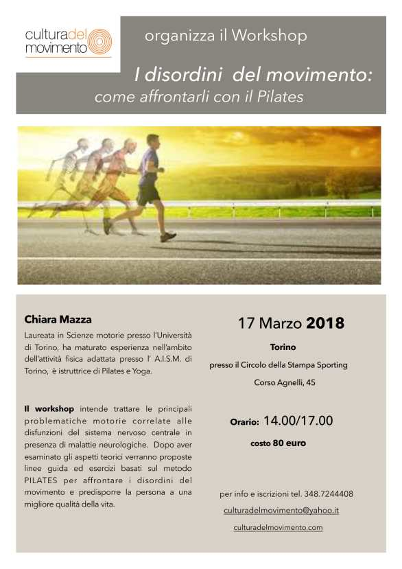 Workshop: I disordini del movimento: strategie e metodi-1
